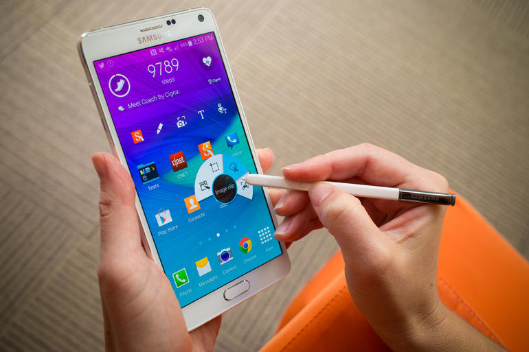 Samsung Galaxy Note 4 Working