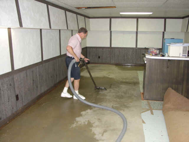 What To Do With Recently Flooded Basement?