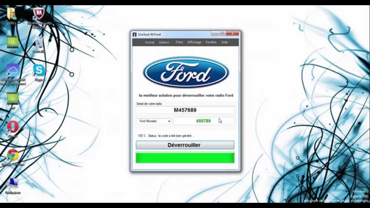 Ford Radio Code Calculator