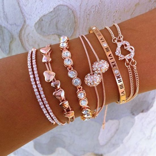 How To Do The Stacking Bracelets The Correct Way